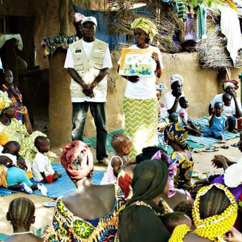 Prévenir la malnutrition, la communauté malienne au cœur de l'action