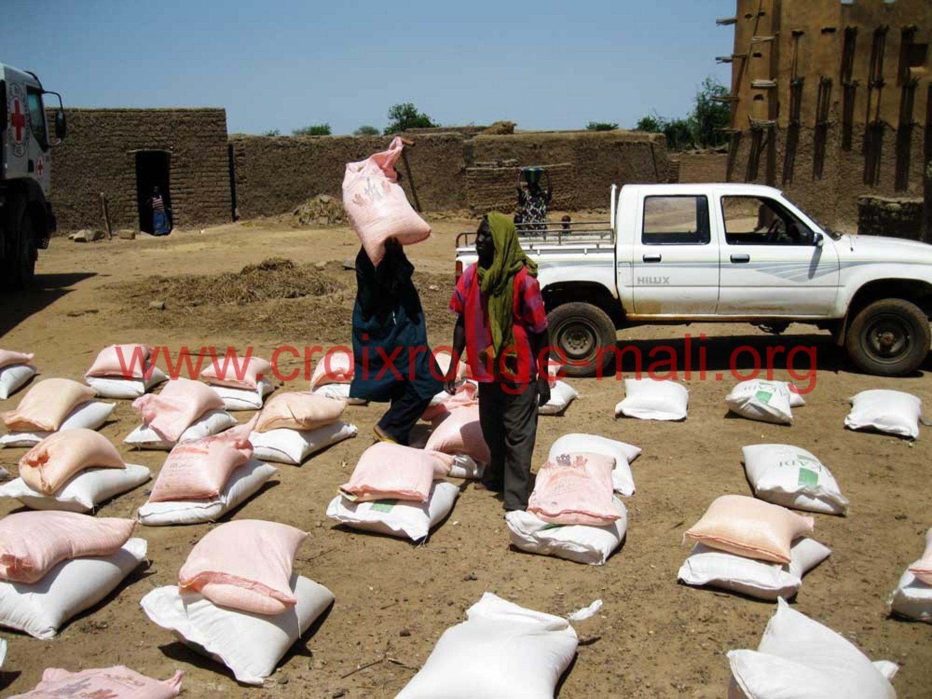 Assistance aux sinistrés d'oumèrè konna