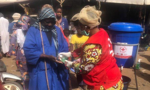 Les volontaires de la Croix-Rouge Malienne sur le front de la bataille contre le coronavirus