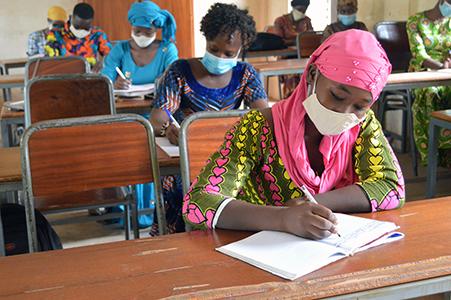 La reprise des cours a l'Institut National de Formation Socio-Sanitaire de la Croix-Rouge Malienne (INFSS)