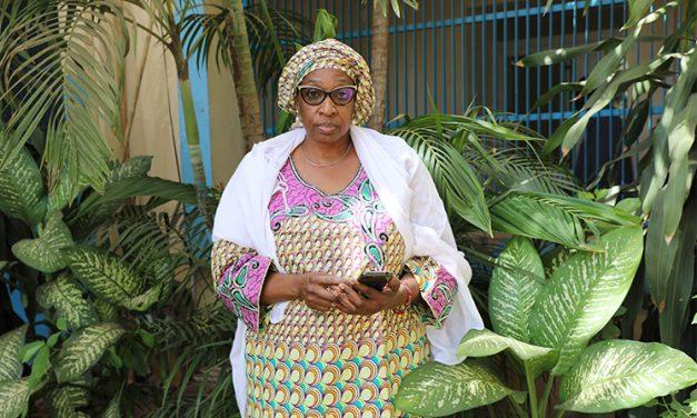 Assitan Coulibaly, vice-présidente de la Croix-Rouge Malienne