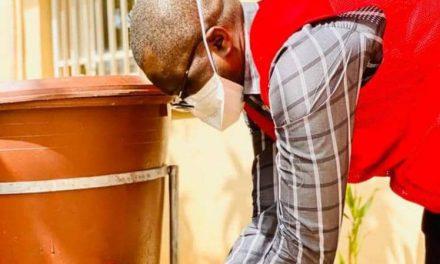Le lavage des mains