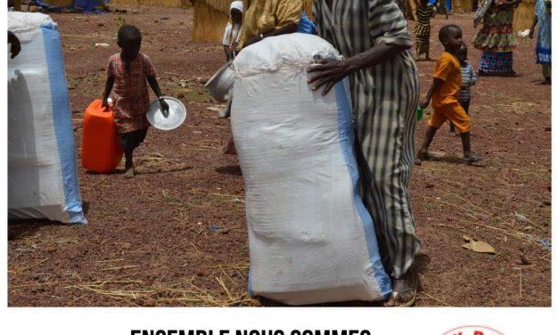 Malgré la COVID 19, nos services humanitaires en faveur des populations vulnérables continuent !