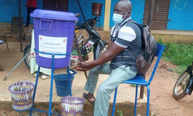 LUTTE CONTRE COVID-19: Des dispositifs de lavage des mains adaptés à l'utilisation des personnes à mobilité réduite.